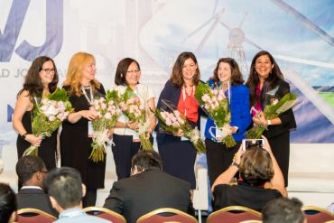 Amy Vernon, Susan Poole, Kim Nguyen, Sara Rushinek and Shaloo Garg